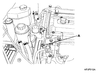 2004 Kia Sorento Power Steering Hose Diagram