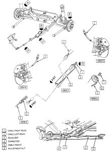 1999 Buick Century    Emergency    Brake Broke     Emergency    Brake
