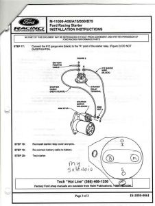 1992 ford f150 starter wiring diagram 1983 ford f150 starter relay: electrical problem 1983 ford ...