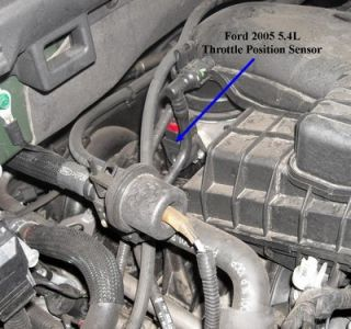 05 f150 engine diagram intake 2003 ford expedition tps ware is the tps located on this
