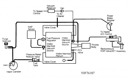 dodge grand caravan vacuum diagram 1994 dodge caravan vaccum: how are the vaccums routed on a ... #4