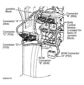 Dodge Body Control Module Location 1996 Neon