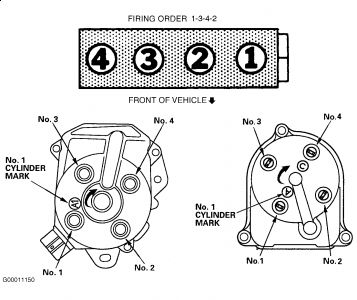 Ignition Cylinder Firing Order Can I Get The Engine Firing Order