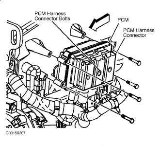 how to replace the ecm  pcm   six cylinder four wheel