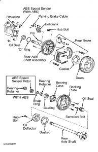 2000 Toyota Tundra Noise in Rear: I Am Hearing a Whum-whum