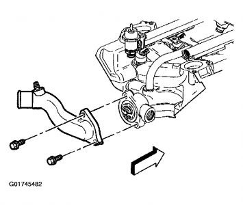 2002 Buick Rendezvous Changing Thermostat on 2002 Buick CX on 3.1l engine diagram, chevy 3.4l engine diagram, gm 3.5 v6 engine diagram, 4.3 engine diagram, buick v6 diagram, buick 3100 firing order,