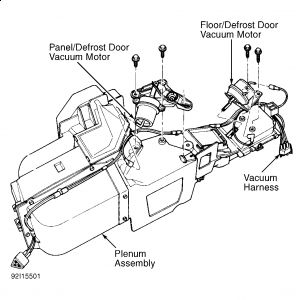 1996 ford f150 need a heater core diagram