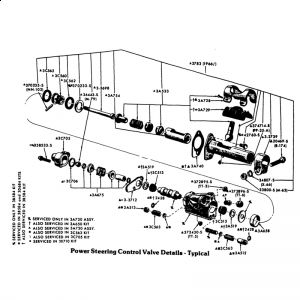 Ford Mustang 1970 Ford Mustang Power Steering Control Valve on 1965 mustang parts diagram