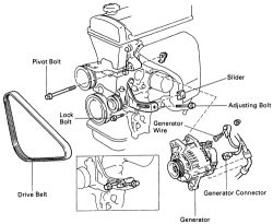Toyota Corolla Alternator Wiring on 1980 toyota corolla wiring harness diagram