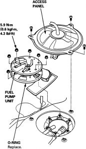 1996 Acura Rl Fuelpump Replacement How Can I Replace My