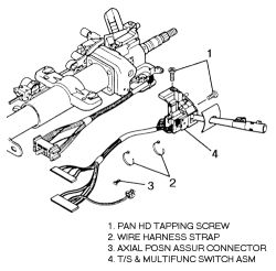 chevy blazer turn signals wiring schematic 1997 chevy blazer turn signal: how do you remove the turn ...