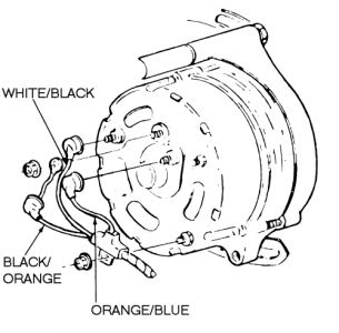 1988 ford f150 alternator electrical problem 1988 ford f150 v8. Black Bedroom Furniture Sets. Home Design Ideas