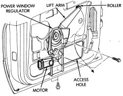 1994 chrysler le baron power window 1994 chrysler le for 1992 chrysler lebaron convertible rear window regulator