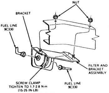1994 ford explorer replacing fuel filter 1994 ford explorer 6 cyl 1997 Ford Explorer Fuel System Diagram 1 reply