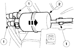 2005 ford ranger fuel filter: how to change and is there a ... ford ranger 2013 2 2 fuel system diagram