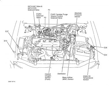 1999 Nissan Altima Engine Diagram