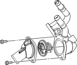 coolant temperature sensor engine cooling problem 4 cyl front 2005 Chevy Cobalt Serpentine Belt Diagram 2carpros forum automotive pictures 261618 2 129