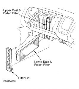 Honda Accord Cabin Air Filter >> 2002 Honda Accord Cabin Filter: 2002 Honda Accord 6 Cyl What Do I ...