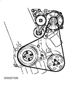 1999 Volkswagen Jetta Serpentine Belt Diagram 1999 Volkswagen