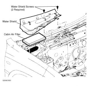 Ford Escape 2005 Ford Escape Cabin Air Filter on 2008 ford f 150 engine diagram