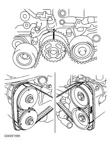 1997 Subaru Legacy 2 Timing Belt on 2002 subaru outback headlight wiring diagram