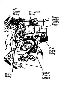 Chevrolet Impala Fuel Pump Relay