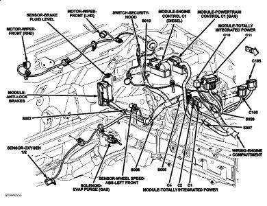 Dodge Nitro Fuse Box Diagram