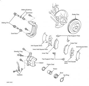 Toyota Rav4 Suspension Diagram