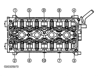 2004 KIA Rio Head Removal And Install I Need To Know What All. 2carpros Automotive S261618graphic182. KIA. 2005 KIA Rio Engine Diagram Of A Head Gasket At Scoala.co