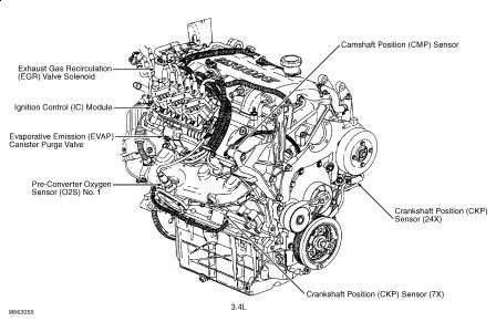 Pontiac Grand Am 1999 Pontiac Grand Am Crankshaft Position Sensor on one wire alternator wiring diagram ford