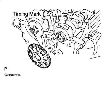 Graphic on Rav 4 Timing Chain