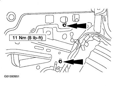 652213 Ford Taurus Antenna Removal