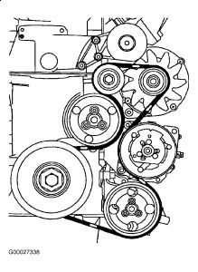 261618_Graphic_391 need diagram for replacing a serpentine belt