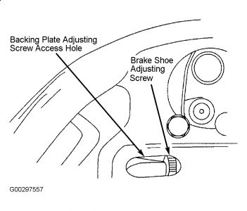 2003 ford taurus rear brake adjustment trying to get the drivers 2000 Ford Transit Wagon 2carpros forum automotive pictures 261618 graphic 434