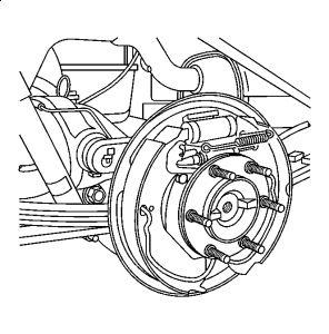 2005 chevy colorado rear brake diagram looking for rear drum 2009 Chevrolet Colorado 2005 chevy colorado rear brake diagram