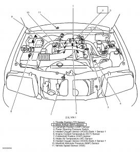 2002 chevy tracker mass airflow: i want to clean the mass ... 2002 chevy cavalier parts diagram 2002 chevy cavalier stereo diagram