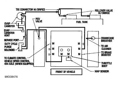 1999 Dodge Ram Dragging Vacuum Line Brakes Problem 1999