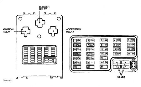261618_Graphic_51 1999 nissan sentra fuse cover for interior fuse panel 2001 diagram interior fuse box nissan sentra at gsmx.co