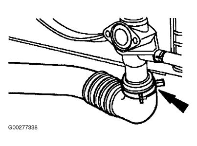 94 Ford Taurus Thermostat Location on 1993 ford ranger power window wiring