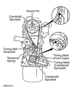 Pontiac G6 Drive Belt Diagram as well T12619445 Camshaft torque setting hyundai elantra further Kia Rio 1 6 Engine Diagram also Hyundai Xg350 Fuse Box further Hyundai Accent 1995 Hyundai Accent Timing Belt Installation. on hyundai timing belt
