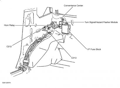Hazard Flasher Location on wiring diagram 1968 cadillac deville