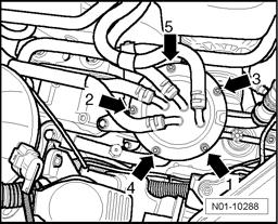 2006 volkswagen tdi replace fuel filter  engine mechanical