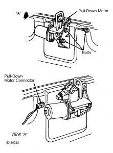 1996 Cadillac El Dorado Trunk Lid Motor: I Have a New Motor to ...