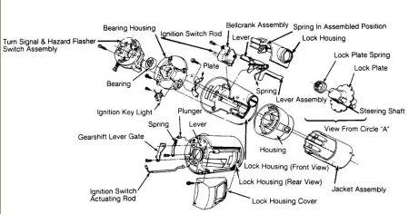 1987 dodge dakota removal and installation of ignition lock. Black Bedroom Furniture Sets. Home Design Ideas
