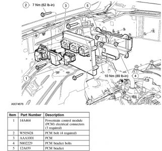 96 Ford Taurus Pcm Diagram