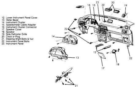 Instructions To Replace Heater Blower In A 1992 Mercedes Benz 300sl