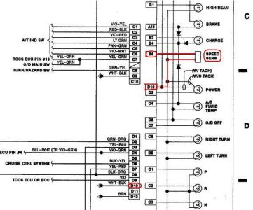 toyota tacoma electrical wiring diagram 1989    toyota    pickup speedometer not working i just bought  1989    toyota    pickup speedometer not working i just bought
