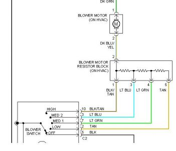 blower motor resistor wiring diagram 03 durango new wiring blower fan schematic blower resistor schematic #15