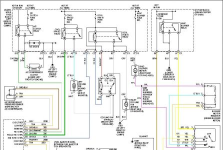 blower motor wiring heater problem 6 cyl two wheel drive Electric Steering Wiring Diagram 2006 Equinox