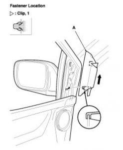 2003 Honda Odyssey Driver S Side View Mirror 2003 Honda